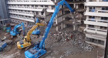 建築、解体工事