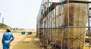 建物構造物のメンテナンス